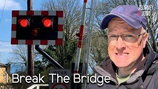 I Break The Swing Bridge On The Kennet & Avon Canal!