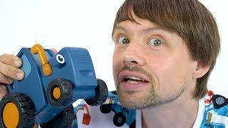 ВОЛШЕБНЫЙ ГЕЛЬ - Весело и интересно играть просто - Синий трактор