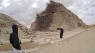 ЛАИ. Египет. Саккара. Пирамида Джосера.