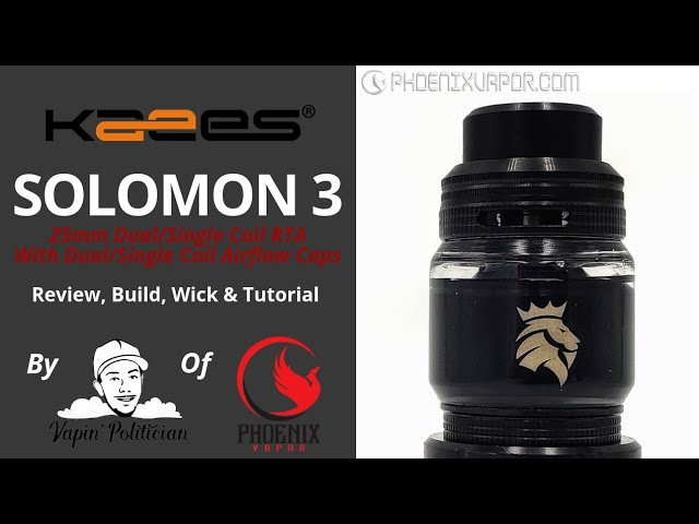 Kaees Solomon III (3) RTA - The post almost fell off 😯 - Get one QC'd by me👍!