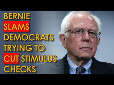 Bernie Sanders and AOC BLAST Democrats CUTTING $1400 Stimulus Checks in CNN Jake Tapper Interview