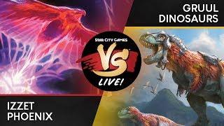 Modern 2019: Match 3 - Azorius (UW) Control vs  Izzet (UR) Phoenix