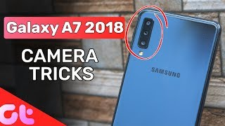 Top Samsung Galaxy A7 Hidden Camera Tricks | Portrait Dolly & More | GT Hindi