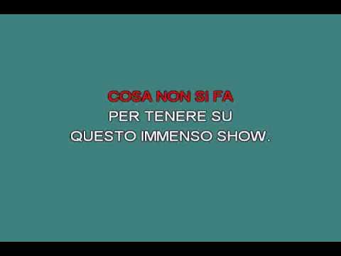 Questo immenso show   Ramazzotti Eros [karaoke] [karaoke]