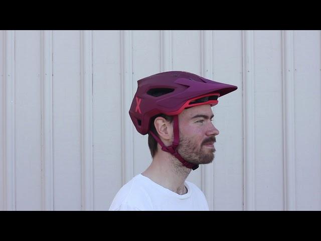 Видео Шлем Fox Speedframe MIPS (Chili)