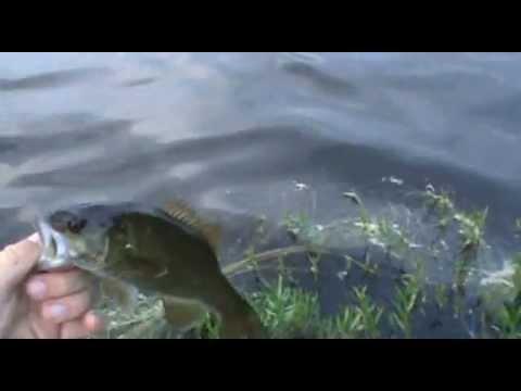 Bass Fishing Barton Pond and Olson Pond 6-5-13