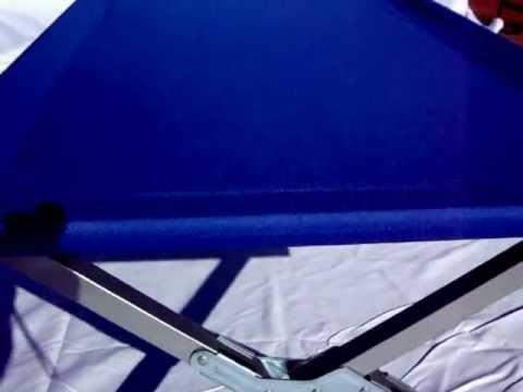 Cama camping plegable