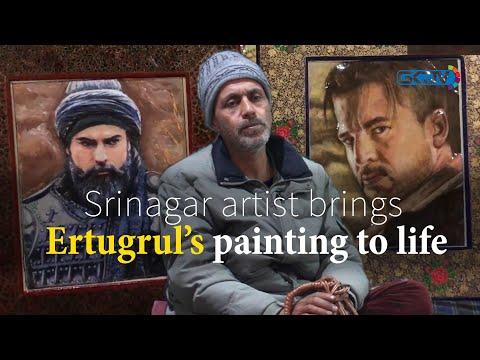 How an Ertugrul painting changed the life of Srinagar Papier-maché artist
