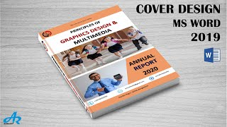 Cover Page Design In MS Word 2020 || Annual Report Template | Magazine Design Word By AR Multimedia