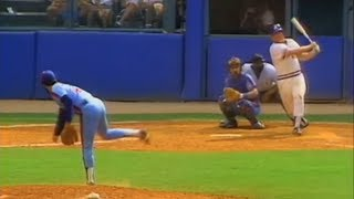 Bob Horner Hits 4 HR's Against The Expos