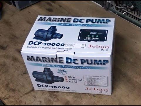Jebao DCP 10000 ECO - Pumpentest