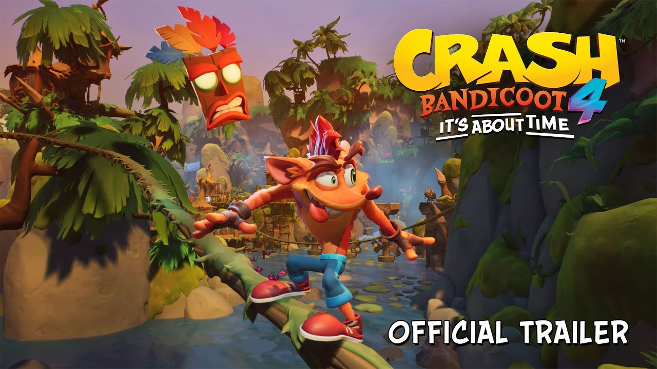 Trailer di Crash Bandicoot 4: It's About Time