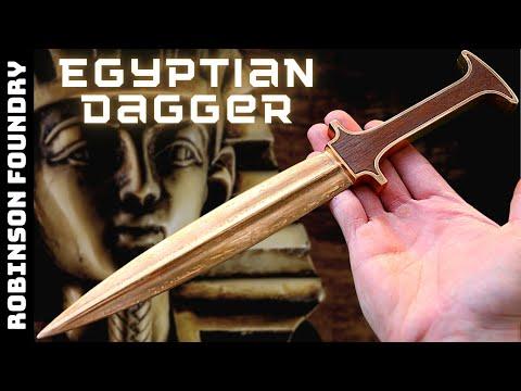 Casting an Egyptian Bronze Dagger [7:40]