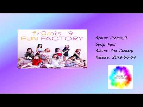 Fromis_9 -  Fun! (Simple Music Video)