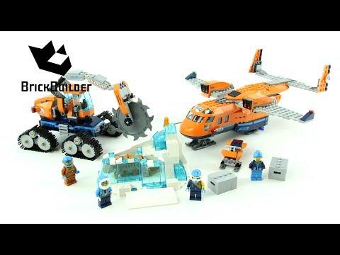 Конструктор Lp «Арктический грузовой самолёт» 02112 (City 60196) / 791 деталь
