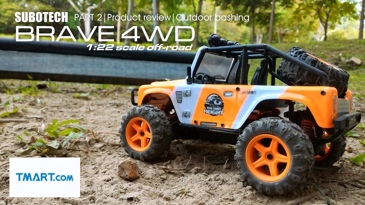Машинка р/у 1:22 Subotech Brave 4WD 35 км/ч (ST-BG1511A) Черный video preview
