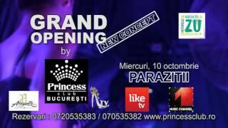 Concert PARAZITII  PRINCESS CLUB BUCURESTI
