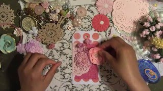 DIY Scrapbook Gift Tags - Handmade Crafty Gift Idea - Mothers Day - YennyStorytale