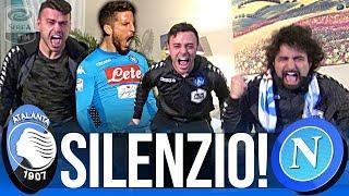 ATALANTA 0-1 NAPOLI | SILENZIO! LIVE REACTION NAPOLETANI HD
