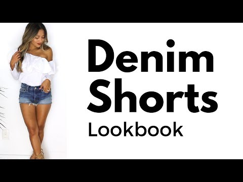 How to Style Jean Shorts | Denim Shorts Lookbook