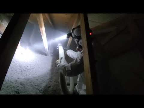 Removing and Replacing Attic Insulation in...