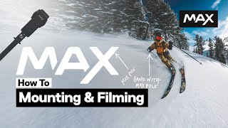 GoPro MAX How to Mount & Film in 360