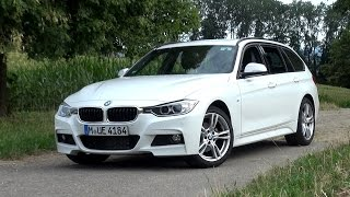 2015 BMW 320d Touring 6-Speed Manual (184 HP) Test Drive