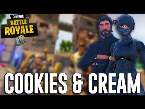 Cookies and Cream! - Fortnite Battle Royale Gameplay - Ninja & Myth Duos