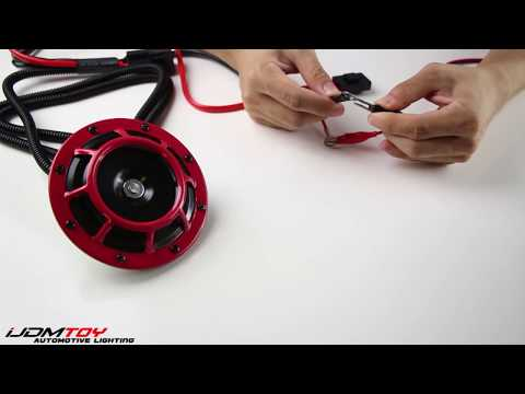 How to Wire 12V Horn Relay Wiring Harness