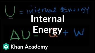 More on Internal Energy