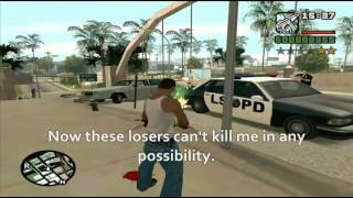 Hitler plays GTA San Andreas
