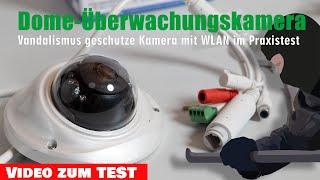 upCam Vortex HD PRO Test: Vandalismus geschützte WLAN Überwachungskamera