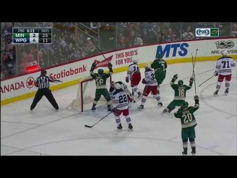 Gotta See It: Wild mount 4-goal comeback in 2nd to stun Jets