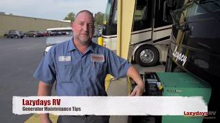 RV Generator Tips from a Lazydays RV Service Expert
