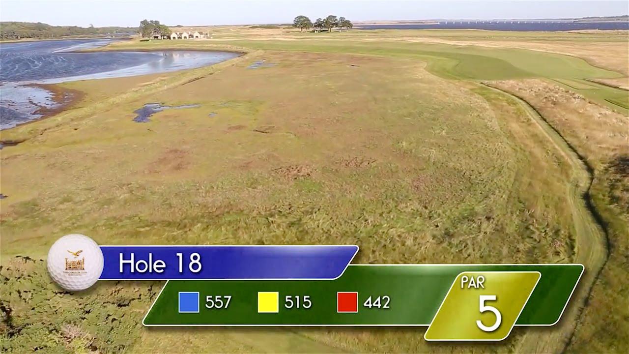 Carnegie Links Hole 18 - YouTube video