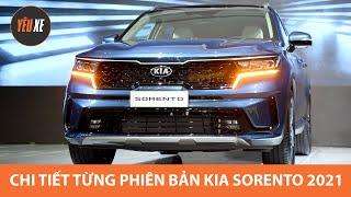 Toàn cảnh màn ra mắt Kia Sorento 2021 tại Việt Nam, chi tiết từng phiên bản trang bị