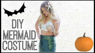 DIY Mermaid Halloween Costume! Style By Dani