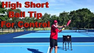 High Short Ball Tip For Control