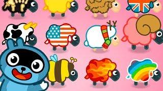 МАЛЫШ Панго СПАСИ овец от ЗЛОГО ВОЛКА Игровой мультик для детей Игра для самых маленьких