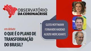#AO VIVO | O que é o plano de transformação do Brasil? | Observatório da Coronacrise