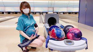 ボウリング女子の練習風景43(Bowling Practice)2020/8
