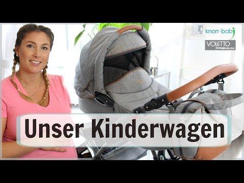 UNSER KINDERWAGEN| Knorr Baby Voletto Premium| SabsisMädchenkram♡