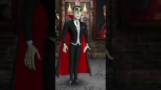 Annoying Orange vs Vampire #Shorts #Shocktober