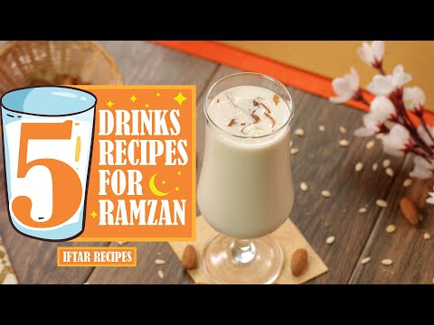 5 Best Drinks for Ramzan By SooperChef (Ramzan Recipes)