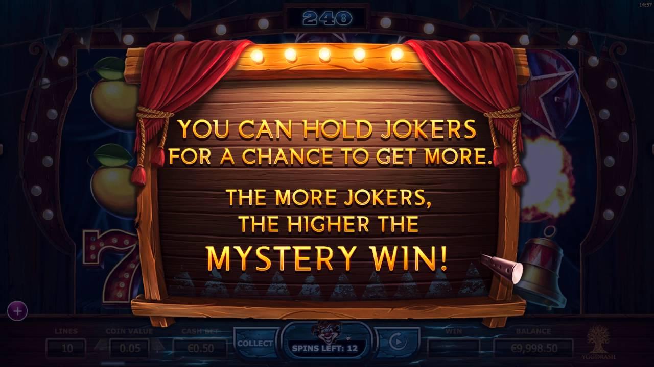 Wicked Circus från Yggdrasil Gaming