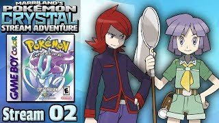 Marriland's Pokémon Crystal Adventure • Stream #02 • Back with MORE Crystal, LIVE on YouTube!
