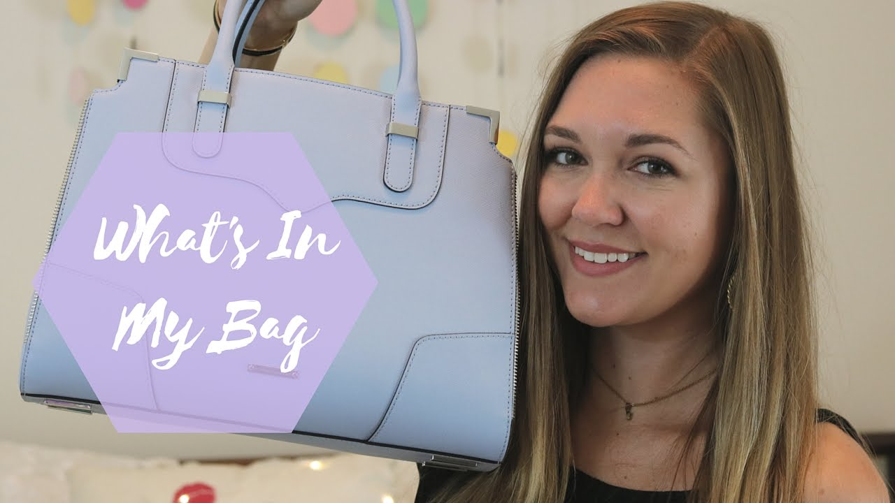 What's In My Bag: Rebecca Minkoff Amorous Satchel