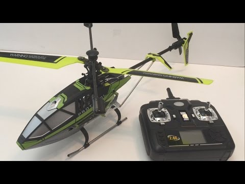 Protocol Predator SB RC Helicopter – Unboxing