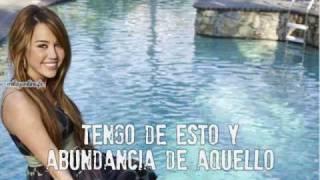 Miley Cyrus-Part of your world(traducida al espanol)