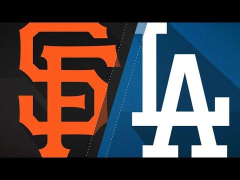 Kershaw leads Dodgers past Giants in win: 9/24/17